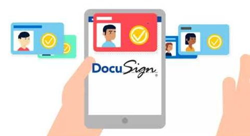 Using DocuSign in Your Sales Department