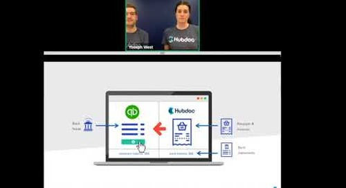 How to Achieve Automated Bank Reconciliation with Hubdoc & QuickBooks Online