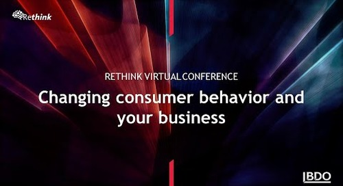 Changing consumer behaviour and your business | BDO Canada