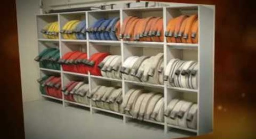 Fire suppression hose shelving cabinets racks shelves storage www.firehosestorage.com 211219 211226
