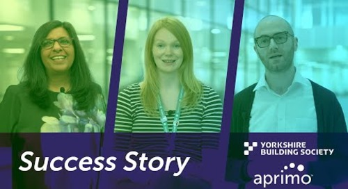 Yorkshire Success Story: Building Society Utilizes Aprimo as Part of its Digital Transformation