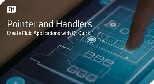 Pointer Handlers for Fluid Applications in Qt Quick 1 {on-demand webinar}