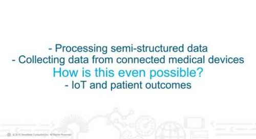Real-talk on Healthcare Analytics: Data Analytics and personalizing the patient experience