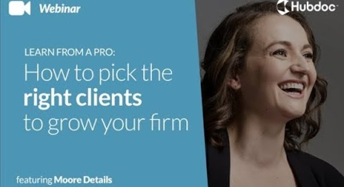 How to Pick the Right Clients to Grow Your Firm with Jennifer Moore