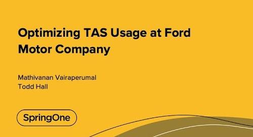Optimizing TAS Usage at Ford Motor Company