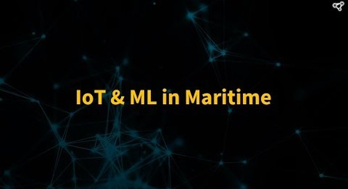 IoT & Machine Learning in Shipping/Maritime