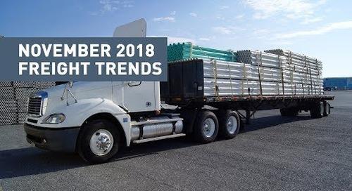 November 2018 Freight & Trucking Update