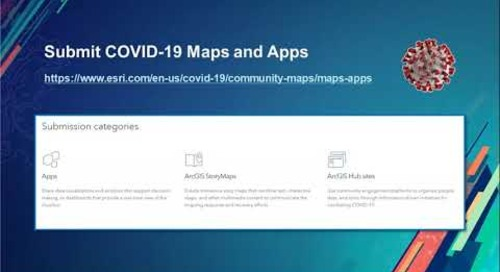 Tips & Tricks GIS Solutions for COVID 19 Government Response