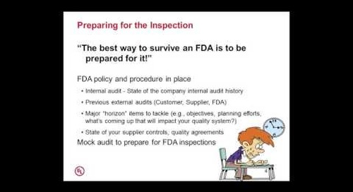 When the FDA Calls for an Inspection