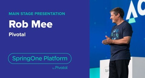 Rob Mee, CEO, Pivotal: Introducing Pivotal Act —SpringOne Platform 2018