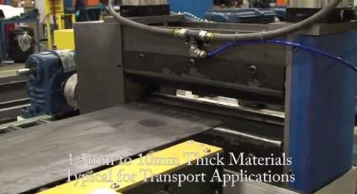 Samco Machinery Structural Member Rollforming Line