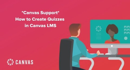 Livestream: Canvas Support - How to Create Quizzes in Canvas LMS