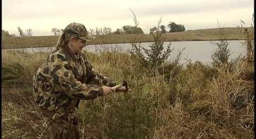 Waterfowling Nebraska - Pond Blind Concealment