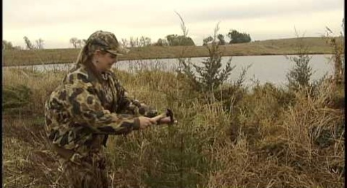 Waterfowling Nebraska - Pond Blind Concealment