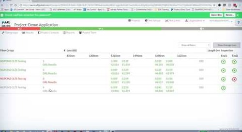 Rogue Modular Test Device: How to view and report in aeRos®