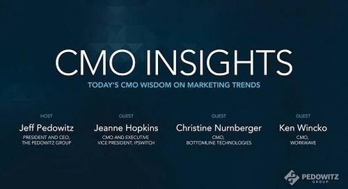 CMO Insights: B2B Marketing Exchange Panel Discussion