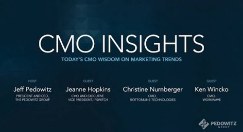 CMO Insights: B2B Marketing Exchange Panel Discussion