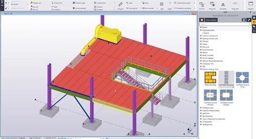 Create Platform Grating Layout with Platform Grating Tools