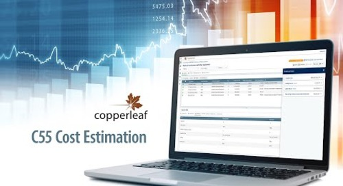 Copperleaf C55 Cost Estimation