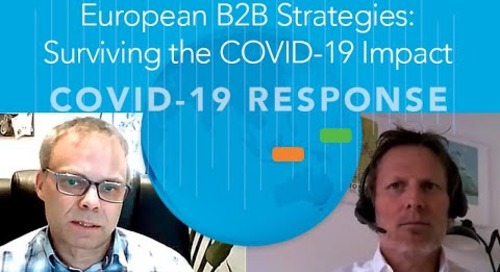 European B2B Strategies Surviving the COVID 19 Impact
