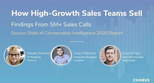 How High-Growth Sales Teams Sell - Findings From 5M+ Sales Calls