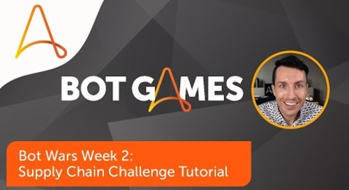 Bot Wars Supply Chain Challenge Solution Tutorial | Automation Anywhere Bot Games 2021