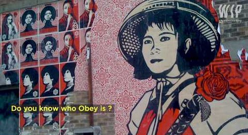 CAPSULE STREET ART - Part 08 - OBEY (English Subtitles) - WIP by Sopra Banking Software