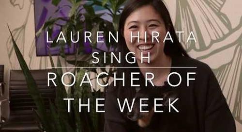 Roacher of the Week  Lauren Hirata Singh, Sr Technical Writer at Cockroach Labs
