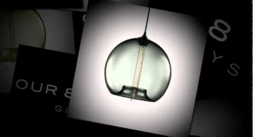 8th Birthday Stamen Giveaway - Niche Handmade Modern Pendant Lighting