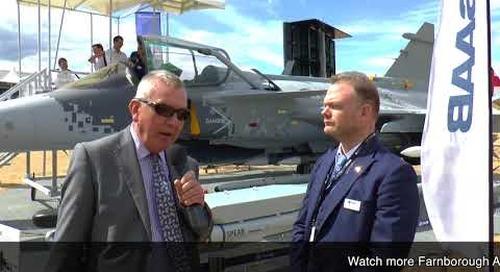 Farnborough 2018: Saab Gripen E