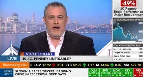 Street Smart on Bloomberg - JCPenney