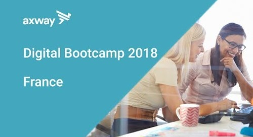 Axway Digital Bootcamp 2018 - France