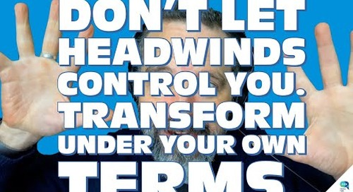 Tanzu Talk: Don't let HEADWINDS control you. Transform under your own terms.