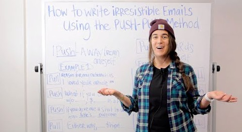 How to Write Irresistible Emails Using the Push Pull Method (ft. Becc Holland)