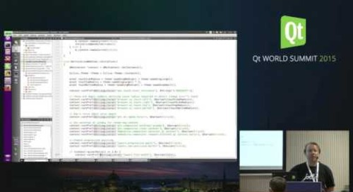 QtWS15- QtMozEmbed  Embedding Gecko with Qt 5, Siteshwar Vashisht, Red Hat & Raine Mäkeläinen, Jo