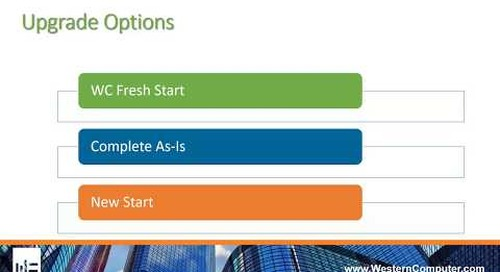 Upgrading to Microsoft Dynamics NAV 2017: What are my options?