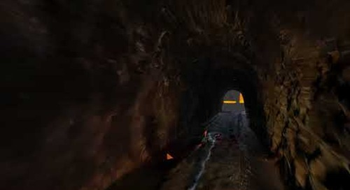 CGI of Crozet Tunnel
