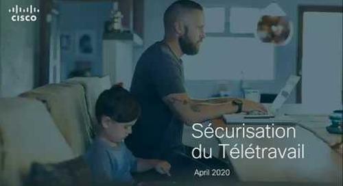 Sécurisation du télétravail – Offres gratuites Cisco (French)