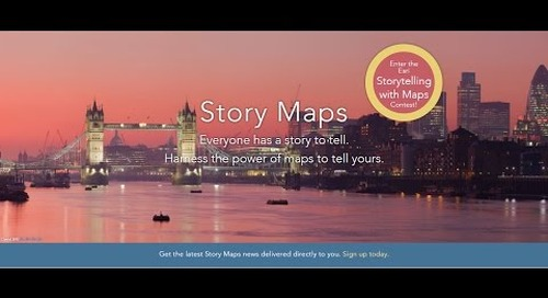 How to Create a Story Map Cascade