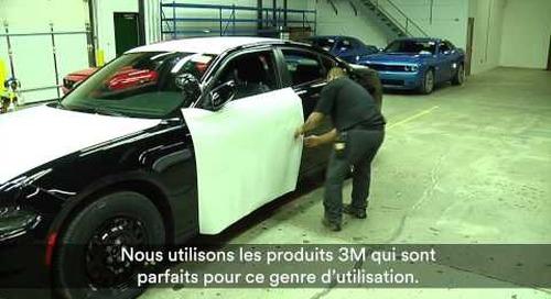 Placages de véhicules de police 3M(MC)