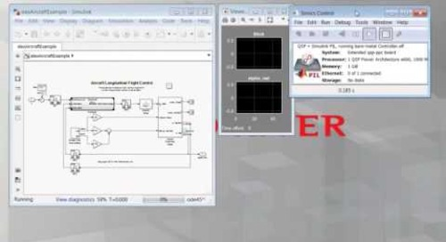 Smarter System Verification Using Simulink and Simics – Demo