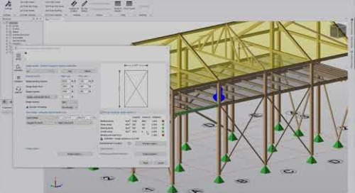 Automatic Timber Member Design for Sustainable Wooden Structures [USA Head Code & Eurocode]