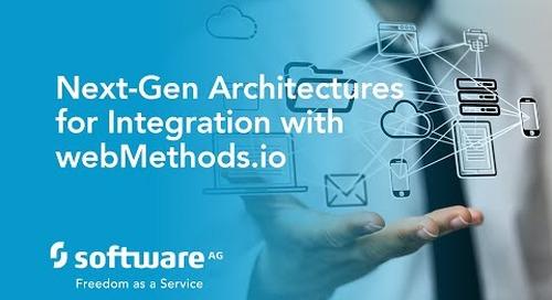 DevCast: Next Generation Architectures for Integration with webMethods.io