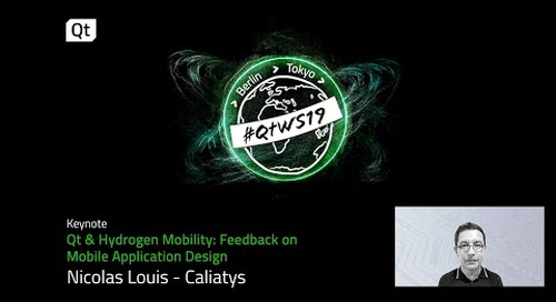Caliatys, hydrogen mobility and industrial mobile application development