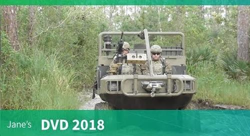 Amphibious HIPPO All Terrain Support Vehicle (DVD 2018)