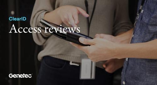 ClearID - Access reviews