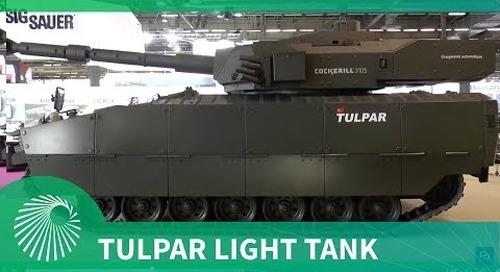 Otokar debuts Tulpar Light Tank