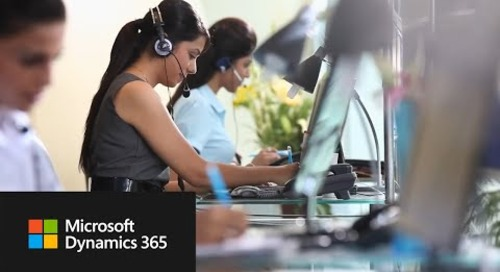 Dynamics 365 for Customer Service Empowers Agents