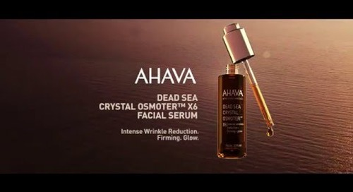 Newly Surfaced: AHAVA Dead Sea Crystal Osmoter™ Facial Serum - short version