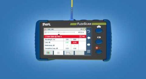 AFL FlexScan OTDR Product Demonstration [French Version]